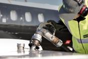 Air BP refuels an operator's aircraft