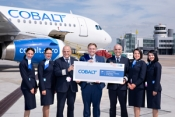Dusseldorf Airport welcomes Cobalt Airways