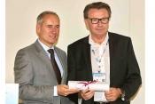 R to L , Siegfried Axtmann, FAI Founder and Group Chairman - EBAA's Chairman, Mr. Juergen Wiese