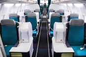 Aer Lingus 757 Business Class Cabin