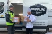 Air Astana backs food charity Surplus to Supper