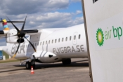 Air BP fuels Braathens Regional Airlines' ATR 72-600 with sustainable aviation fuel at Halmstad