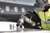 Air BP refuels an operator's aircraft