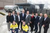 Air BP team with Chris Cowan, CEO Essendon Fields