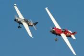 Air Race F1 launches in Lleida Catalunya. Spain