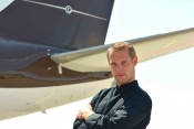 Benjamin Laffineur is clocking up the hours on board the BBJ marketed by Vertis