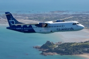 Blue Islands ATR72 over Jersey
