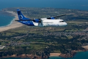 Blue Islands ATR72 over Jersey