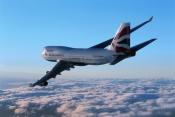 Boeing 747 inflight