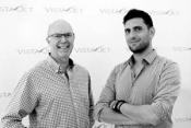 Derek Freeman, director of Bon Soirée with Diego Sabino, VP of Private dining at VistaJet