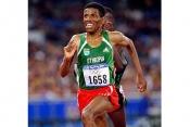 Ethioia's No 1 Runner Halle Gedtreselassie