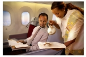 Ethiopian Coffee served on board Ethiopian Airlines