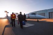 FAI Air Ambulance exterior