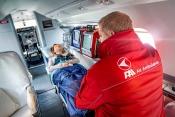 FAI Air Ambulance interior
