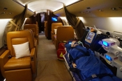 FAI debuts at BIAS and welcomes its first Bombardier Challenger 850. Air Ambulance format
