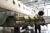 FAI Technik's latest Global Express refurbishment, Project Pearl, undergoes inspections at its