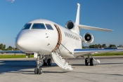 Falcon 7X of Planet Nine Private Air