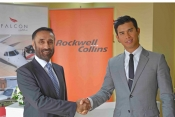 Falcon & Rockwell Collins at MEBA