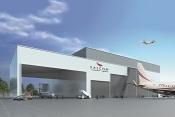 Falcon Aviation's business jet MRO facility