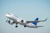 First A320neo delivery to Air Astana, Nov 8th 2016
