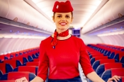 FlyArystan cabin crew