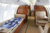 Flying Coloura delivers first special mission CFJ Exect Liner to Sharjah UAE