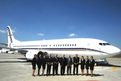 GainJet adds a 737-400 corporate airliner to its fleet.