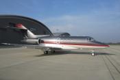 GAMA Aviation Hawker 1000 based at Farnbotough UK.