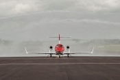 HondaJet arrives at Marshall Birmingham FBO