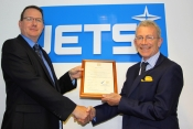 ISO 9001 Certificate Presentation - Steve Reeder & Tony Shakesby