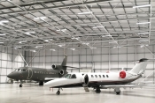 Jet Maintenance hangar at London Oxford Airport
