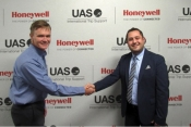 John Peterson, Honeywell's Sr. Director Services and Connectivity, and Jay Ammar Husary.
