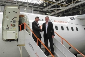 Jota Aviation CEO Andy Green welcomes Kevin Callan.