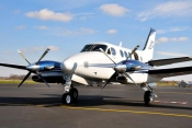 Jota Aviation's C90 GTX is company's fifth King Air.