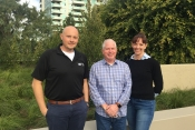 Left to right, AVIAA grows its Customer Success Team with Matthew Suedkamp, Don Hitch and Lori Jones