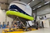 New simulator facility for the Dornier 328 Turboprop near Düsseldorf, Germany