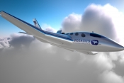 Pegasus One Vertical Business Jet debuts concept at EBACE