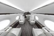 Planet Nine - Gulfstream G650 interior