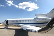 Planet Nine Private Air - Falcon 7X exterior
