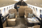Planet Nine Private Air - Falcon 7X interior