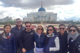 Press trip to Presidential Palace