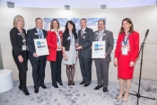 Rockwell Collins Celebrates two customer support awards from Airbus at 2015 Aircrafte Interiors Expo