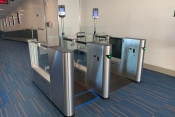 SelfPass biometric scanning with JetBlue at JFK