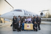 Stansted Airport College is taking more female trainees – plus a Bombardier Challenger 600, do
