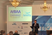 Tarek Rahheb welcomes delegtes to the recent AfBAA event.