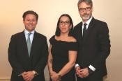 The Aero Asset team, from Left - William Sturm, Valerie Pereira, Emmanuel Dupuy