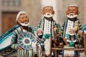 Uzbekistan Ceramic figures