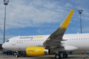 Vueling Airbus with sharktip winglets