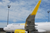 Vueling strengthens its growth with the addition of the ninth A320 Sharklets Airbus.
