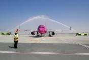 Wizz - Air arrives at DWC - Dubai